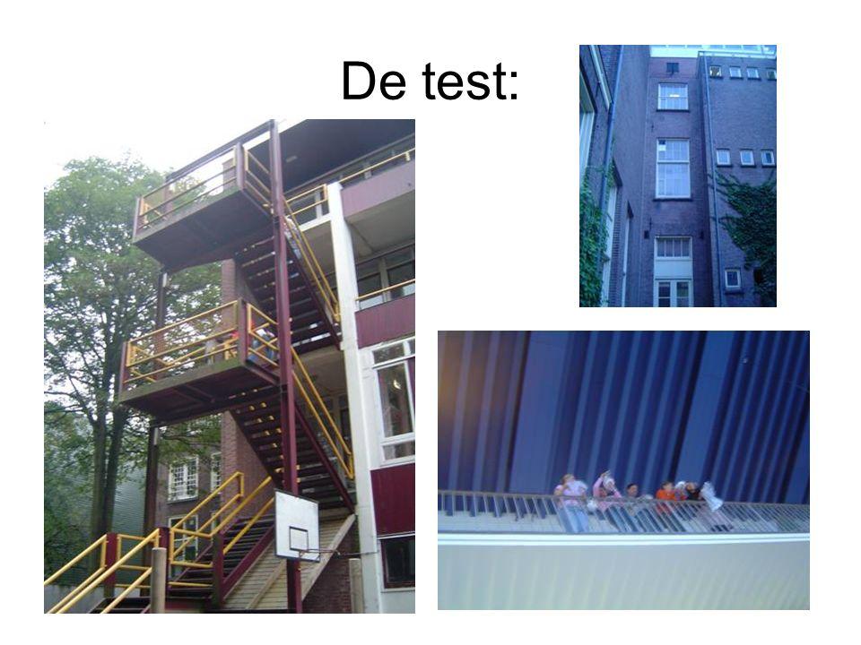 De test: