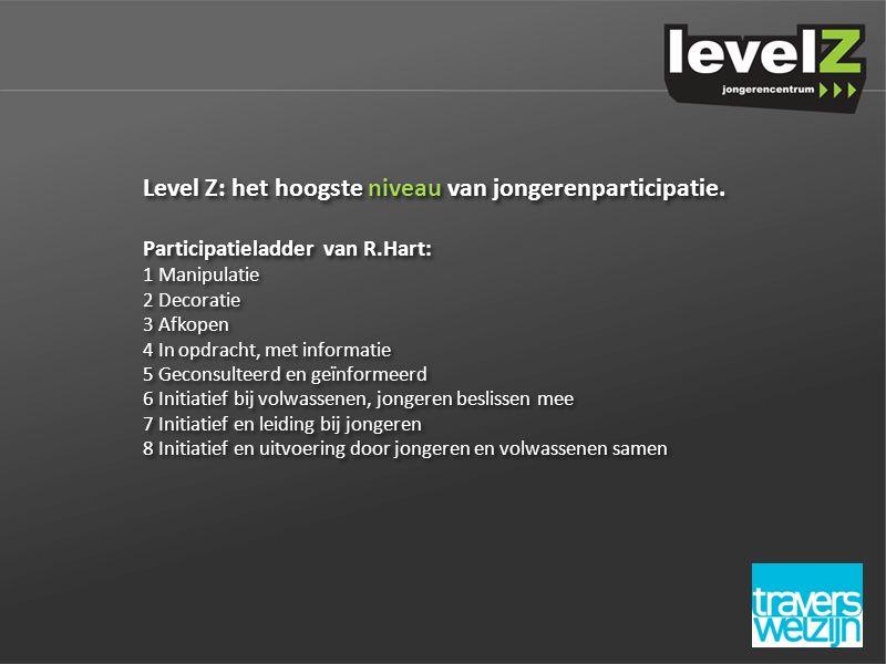 Level Z: het hoogste niveau van jongerenparticipatie.