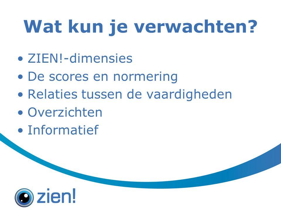 Overzicht opvragen 1.Klik op overzichten > leerlingvolgsysteem > begeleiding 2.Kies voor PDF-versie van: o ZIEN.
