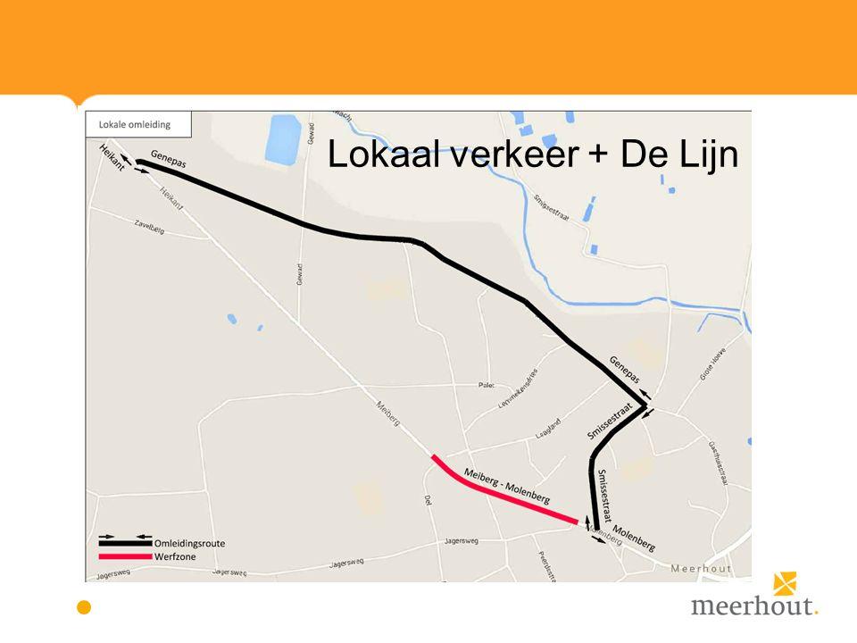Lokaal verkeer + De Lijn