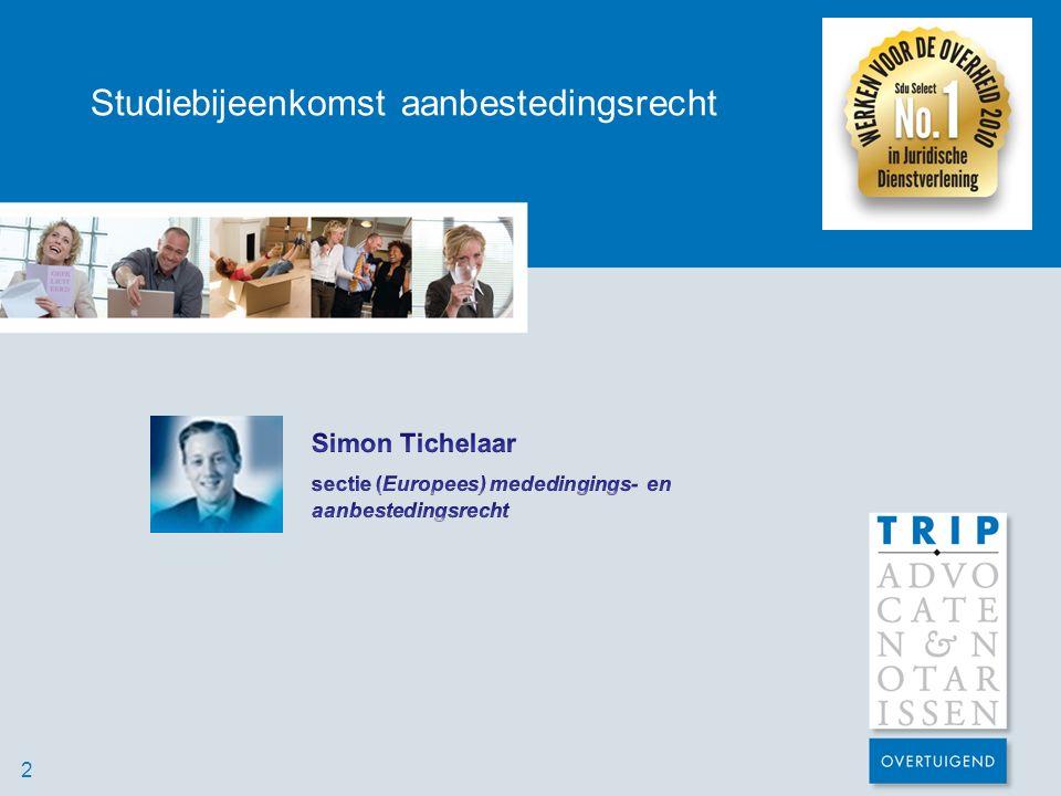 Studiebijeenkomst aanbestedingsrecht Technische bekwaamheid 4) Ja, (net) duidelijk genoeg…