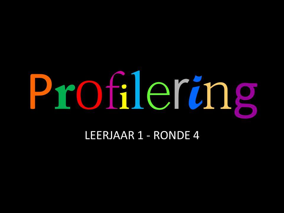 LEERJAAR 1 - RONDE 4