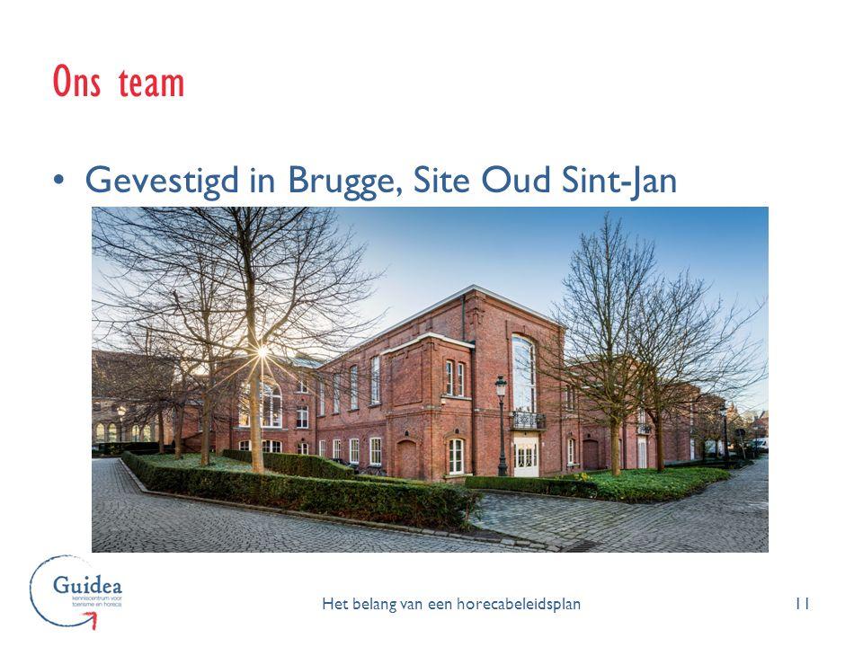 Ons team 11 Gevestigd in Brugge, Site Oud Sint-Jan Het belang van een horecabeleidsplan