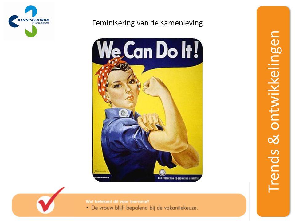 Trends & ontwikkelingen Feminisering van de samenleving