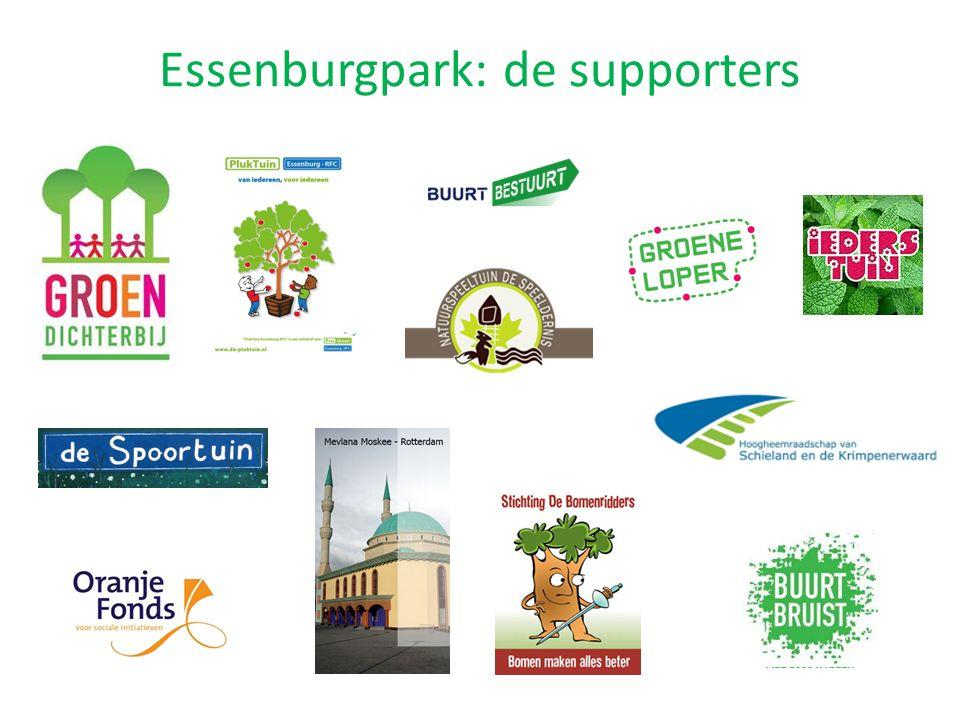 Essenburgpark: de supporters