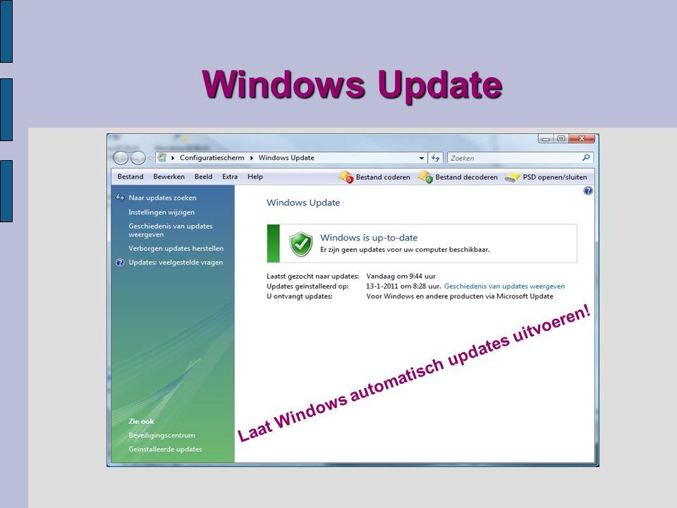 Gebruikers Account Beheer UAC Lees hierover op internet:
