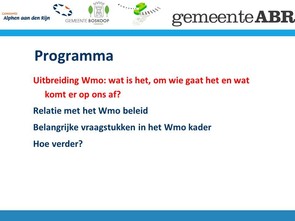 Begeleiding naar de Wmo Extramurale 'begeleiding' van AWBZ onder compensatieplicht Wmo: bevordering) behoud)van zelfredzaamheid compensatie )..