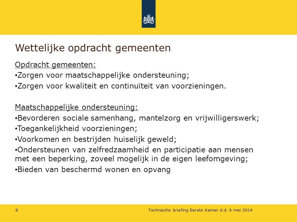 Vragen.Kijk op de website: www.invoeringwmo.nl voor handreikingen goede voorbeelden, etc.