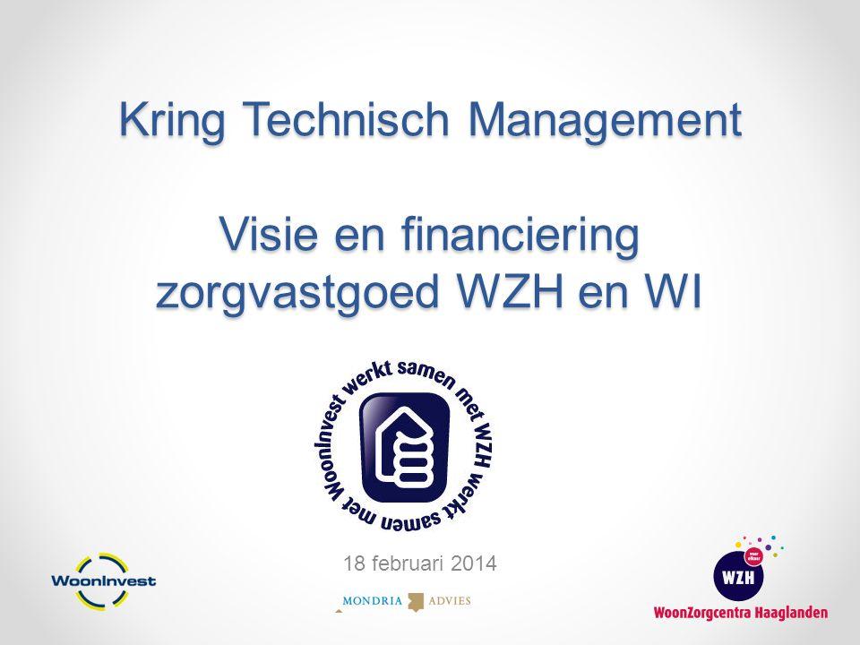 Kring Technisch Management Visie en financiering zorgvastgoed WZH en WI 18 februari 2014