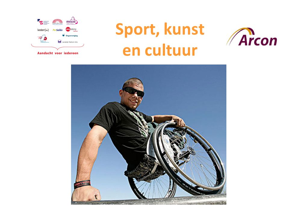 Sport, kunst en cultuur