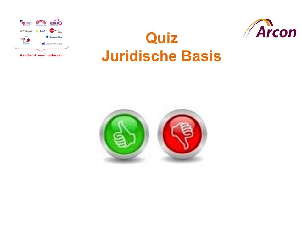 Quiz Juridische Basis