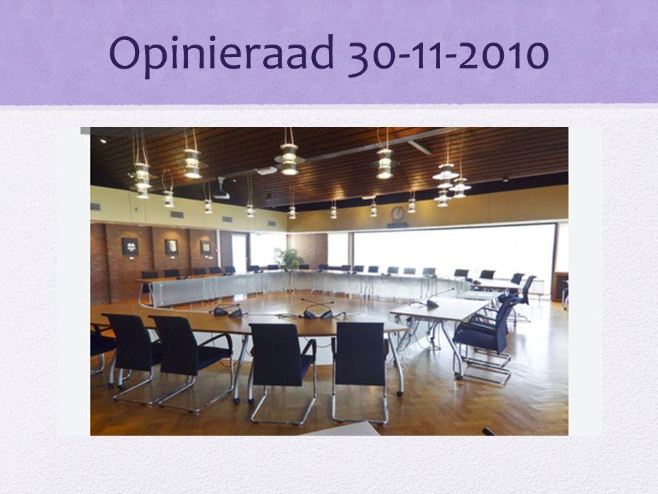 Opinieraad 30-11-2010