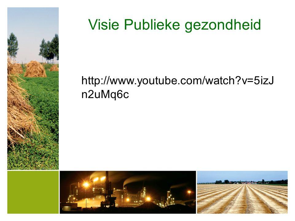 Visie Publieke gezondheid http://www.youtube.com/watch?v=5izJ n2uMq6c
