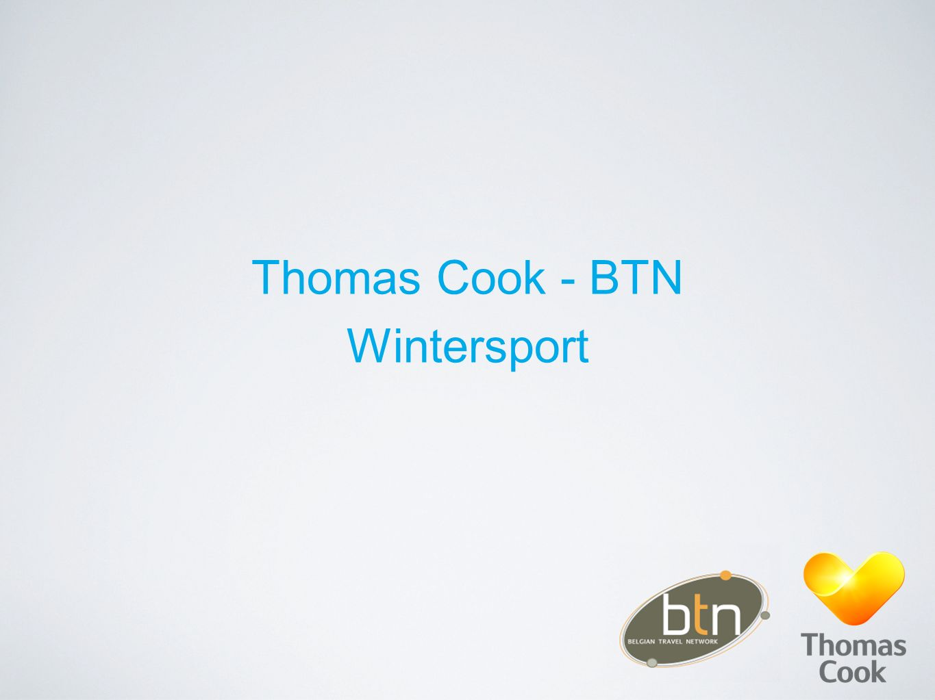 Thomas Cook - BTN Wintersport
