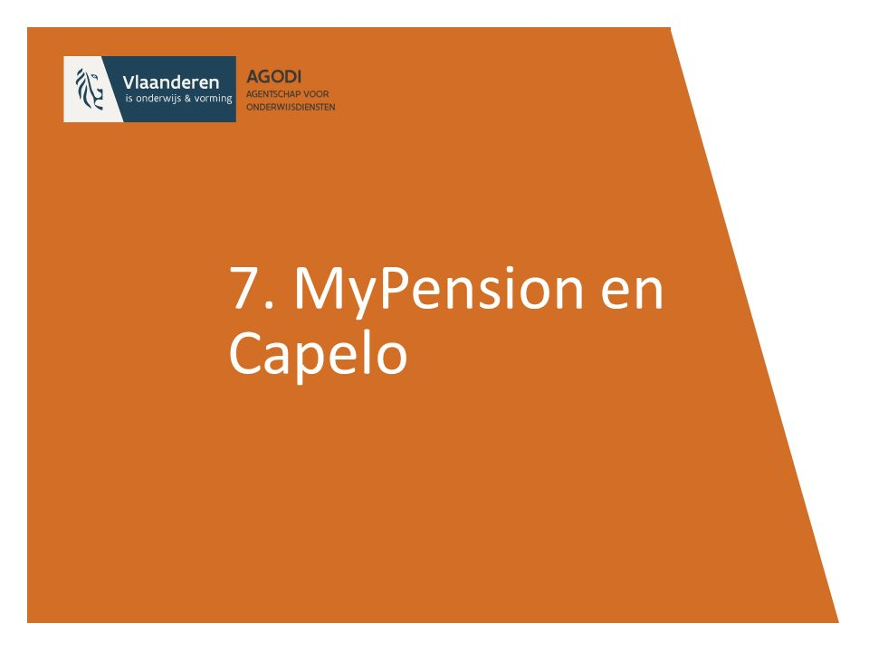 7. MyPension en Capelo