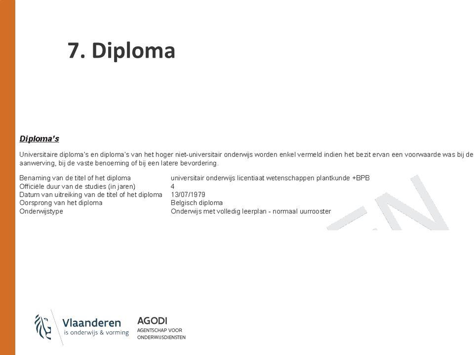 7. Diploma