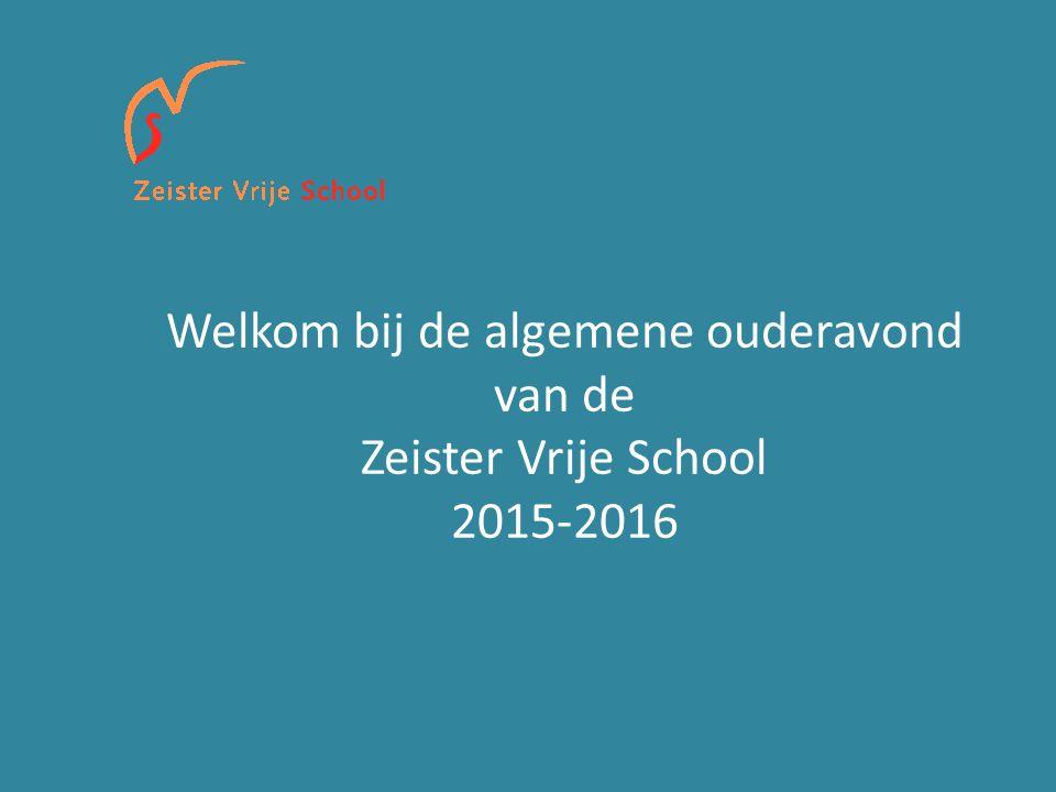 Welkom bij de algemene ouderavond van de Zeister Vrije School 2015-2016