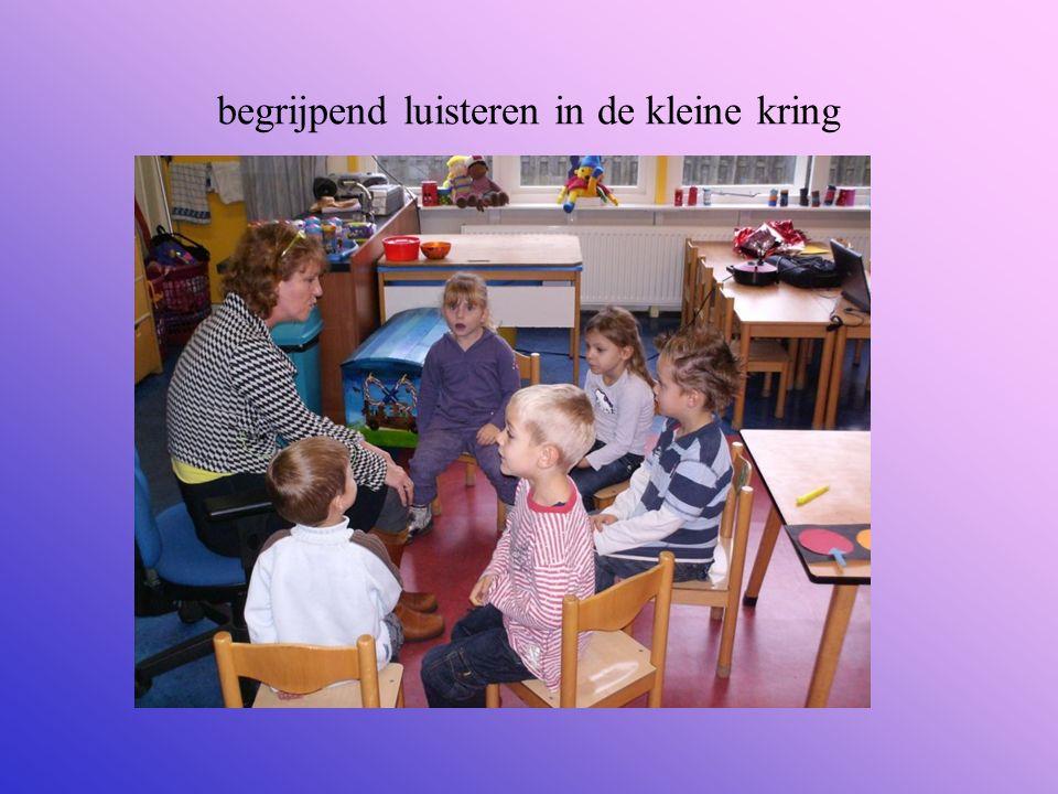 begrijpend luisteren in de kleine kring