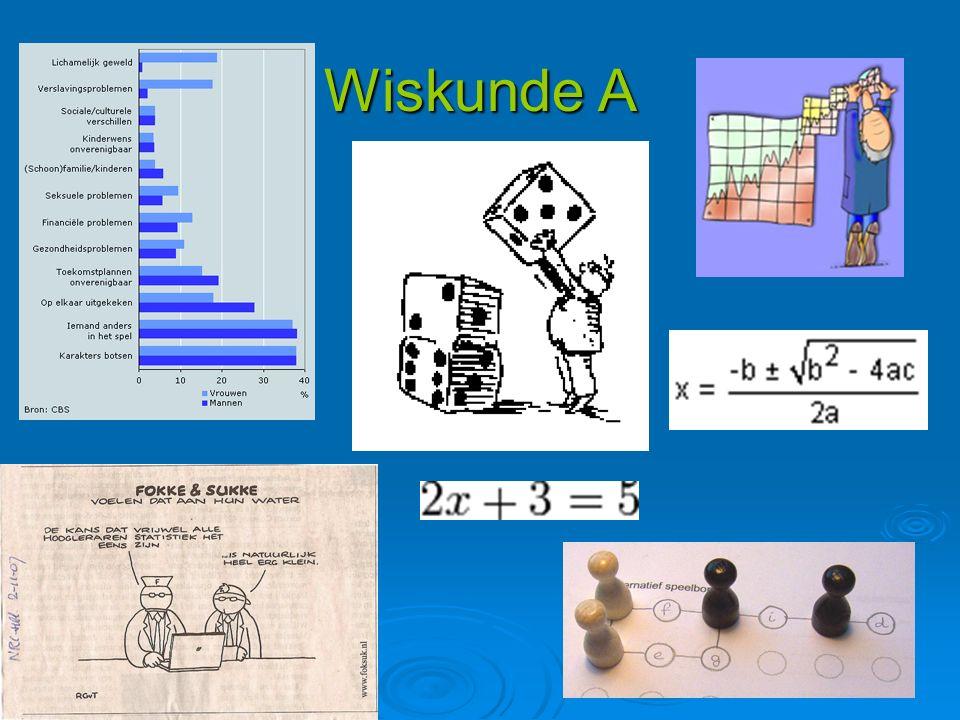 Wiskunde A
