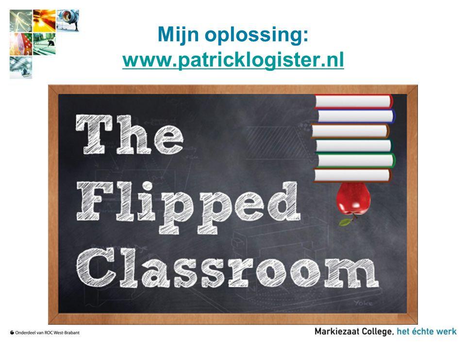 Mijn oplossing: www.patricklogister.nl www.patricklogister.nl