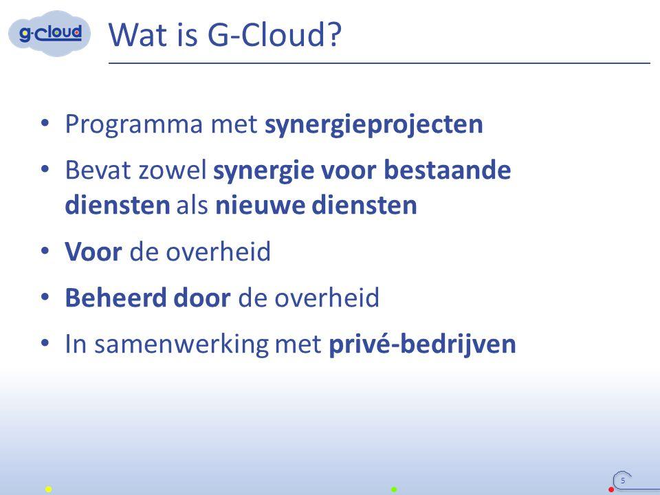 3 Colleges (FODs, OISZ, ION) SIT (ICT-managers van FODs, OISZ, ION) Service owners G-Cloud organisatie Regering G-Cloud Strategic Board G-Cloud Operational & Program Board FODs/PODs (horizontale FOD, FOD FIN, Belnet, …) OISZ/ION (KSZ, …) Vereniging van FODs/PODs/ OISZ/ION Privé-ICT- firma's olv FOD/OISZ/… 16