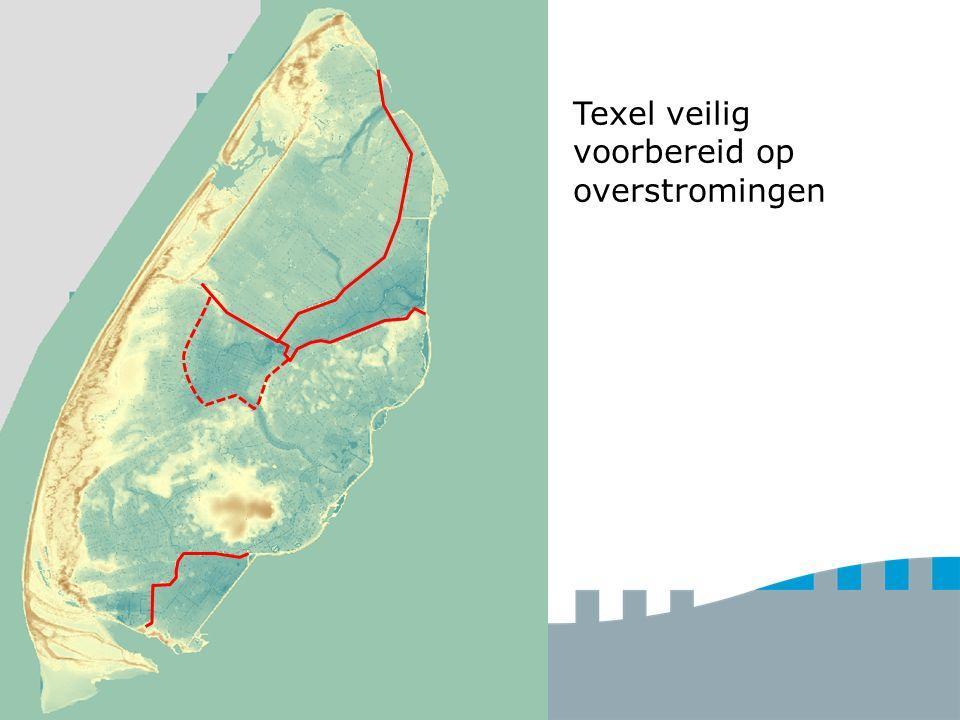 Wat voor keringen zijn er op Texel.Hoe werkt meerlaagse veiligheid.