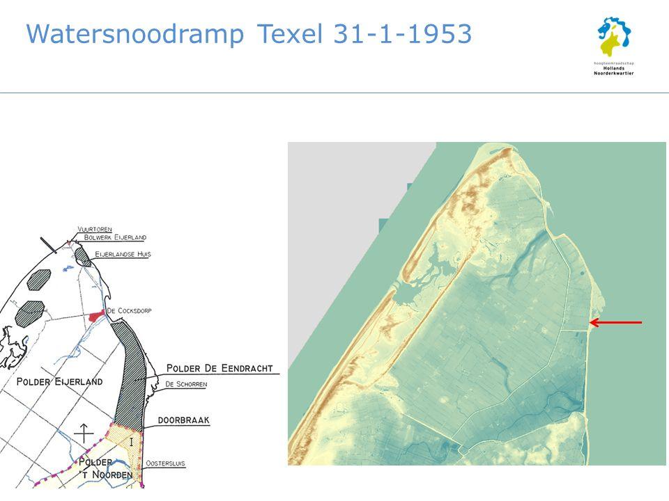 Watersnoodramp Texel 31-1-1953