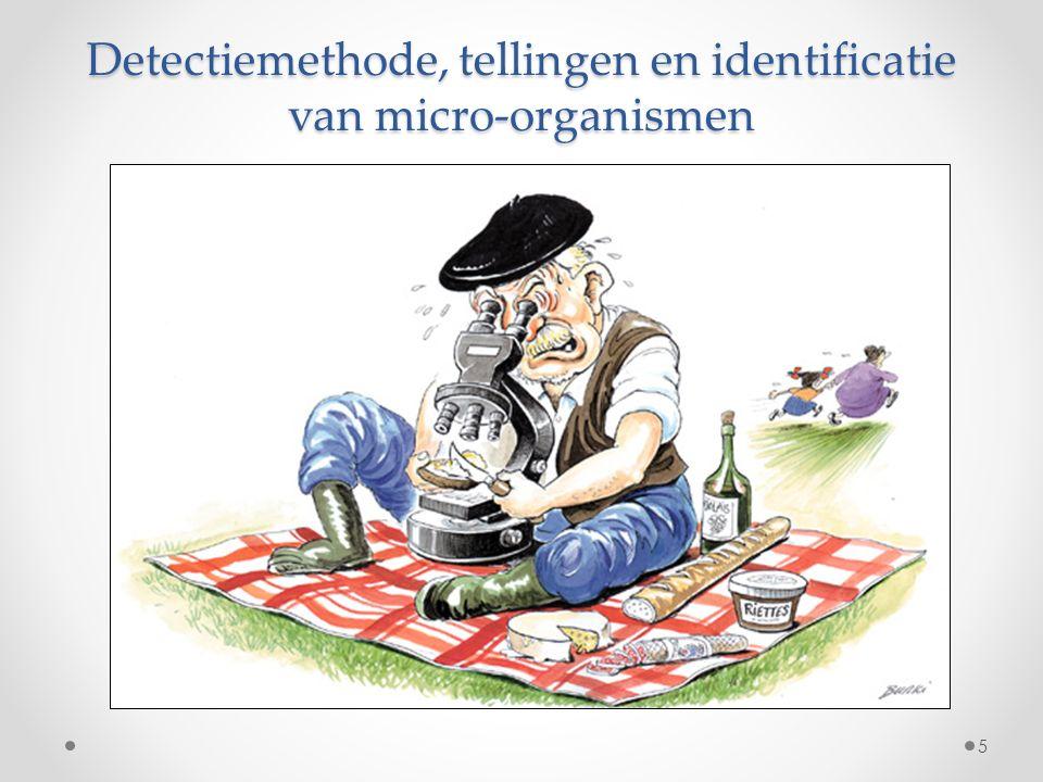 Detectiemethode, tellingen en identificatie van micro-organismen 5