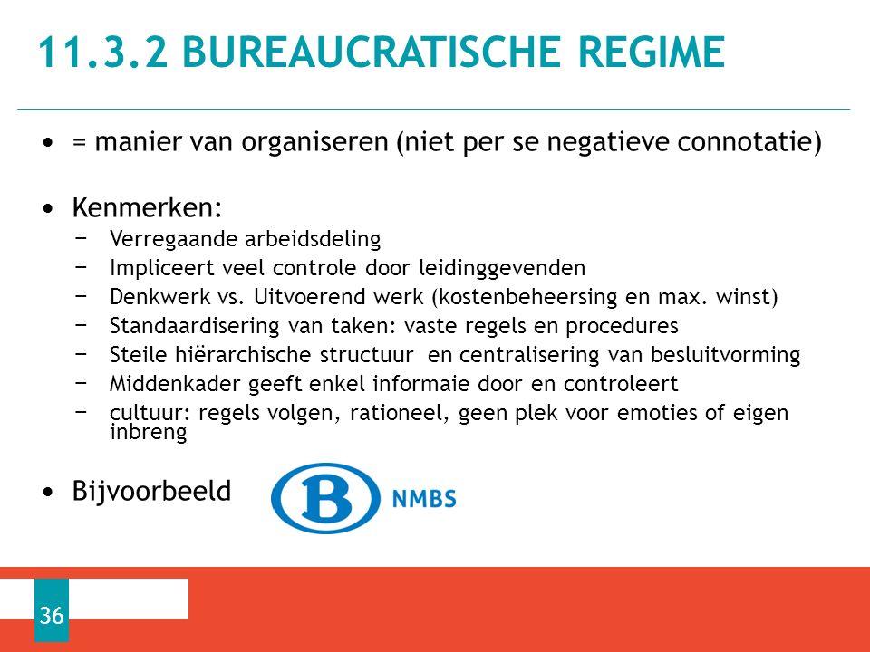 = manier van organiseren (niet per se negatieve connotatie) Kenmerken: − Verregaande arbeidsdeling − Impliceert veel controle door leidinggevenden − Denkwerk vs.