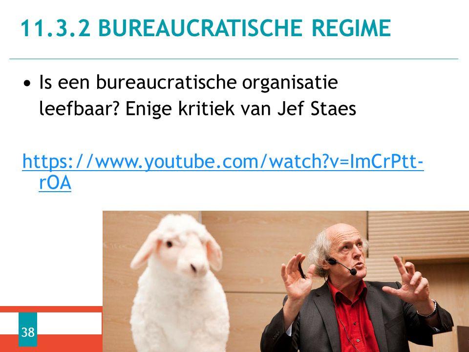 Is een bureaucratische organisatie leefbaar.