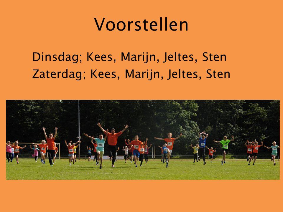 Trainers Kees VrolijkSten van der Moer Marijn van der Graaf Jeltes de Weerd