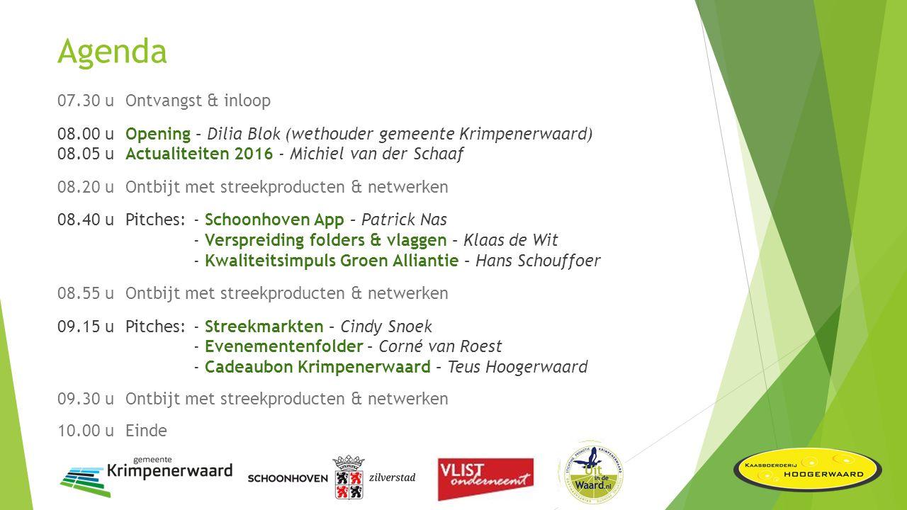Opening toeristisch seizoen 2016 Opening Dilia Blok (wethouder gemeente Krimpenerwaard)