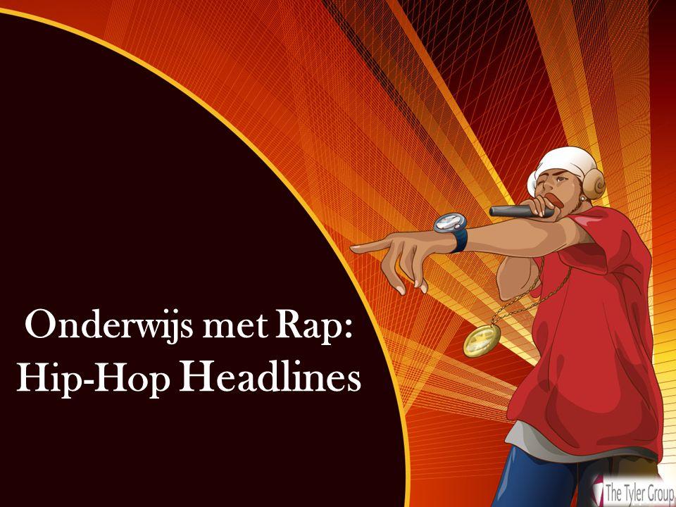 Onderwijs met Rap: Hip-Hop Headlines