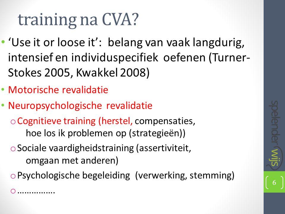 training na CVA.