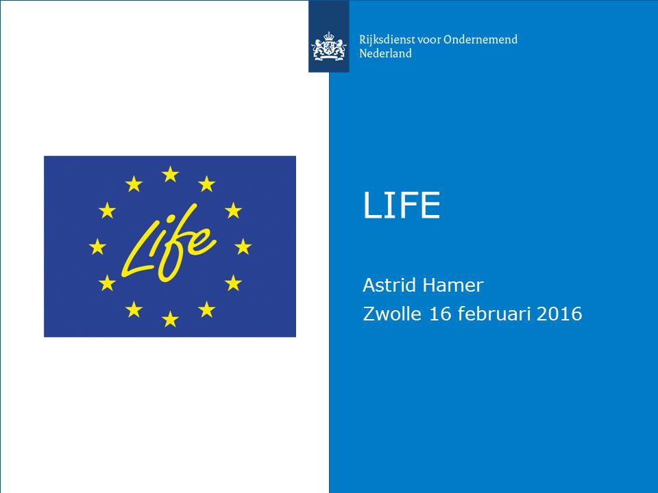 LIFE Astrid Hamer Zwolle 16 februari 2016