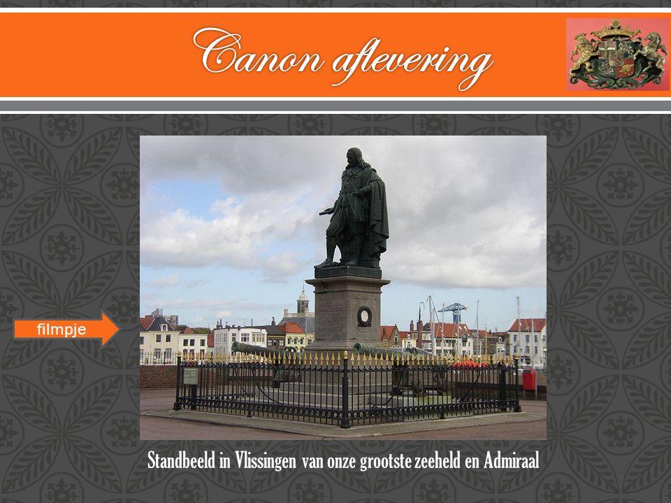 Standbeeld in Vlissingen van onze grootste zeeheld en Admiraal filmpje