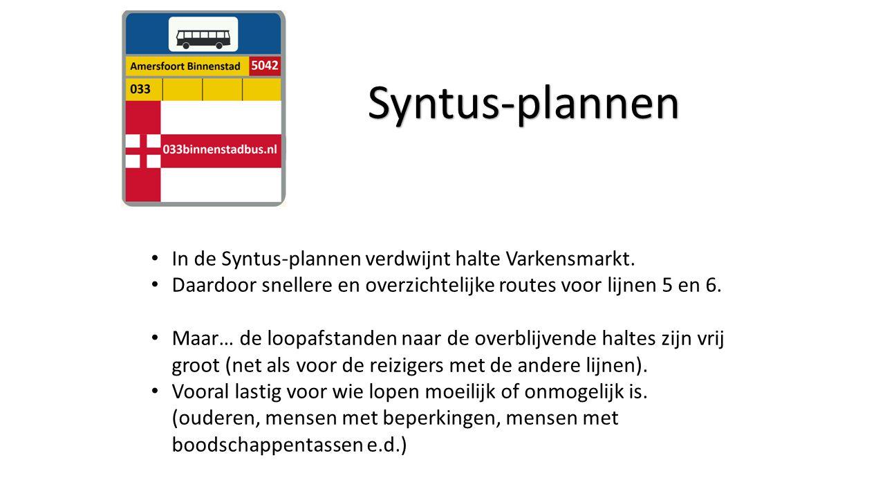 In de Syntus-plannen verdwijnt halte Varkensmarkt.