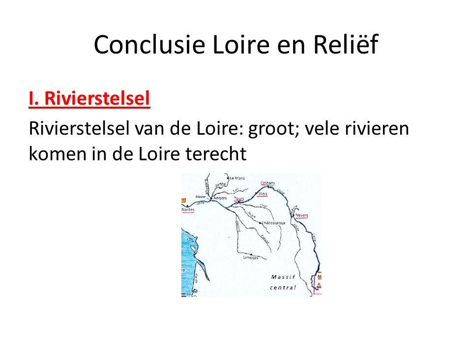 Conclusie Loire en Reliëf I.