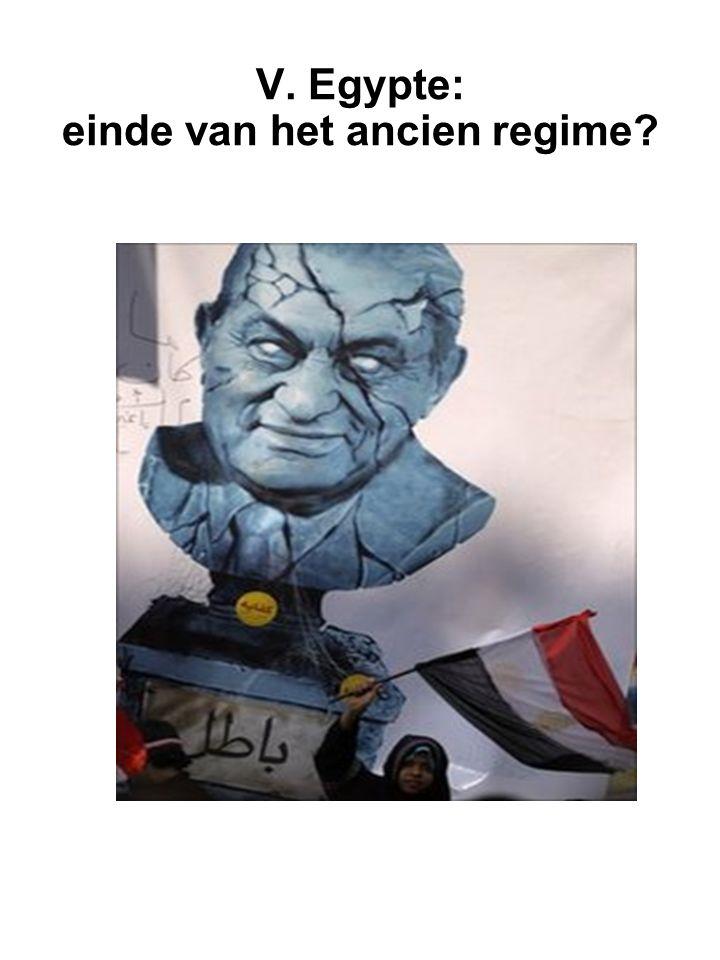 V. Egypte: einde van het ancien regime