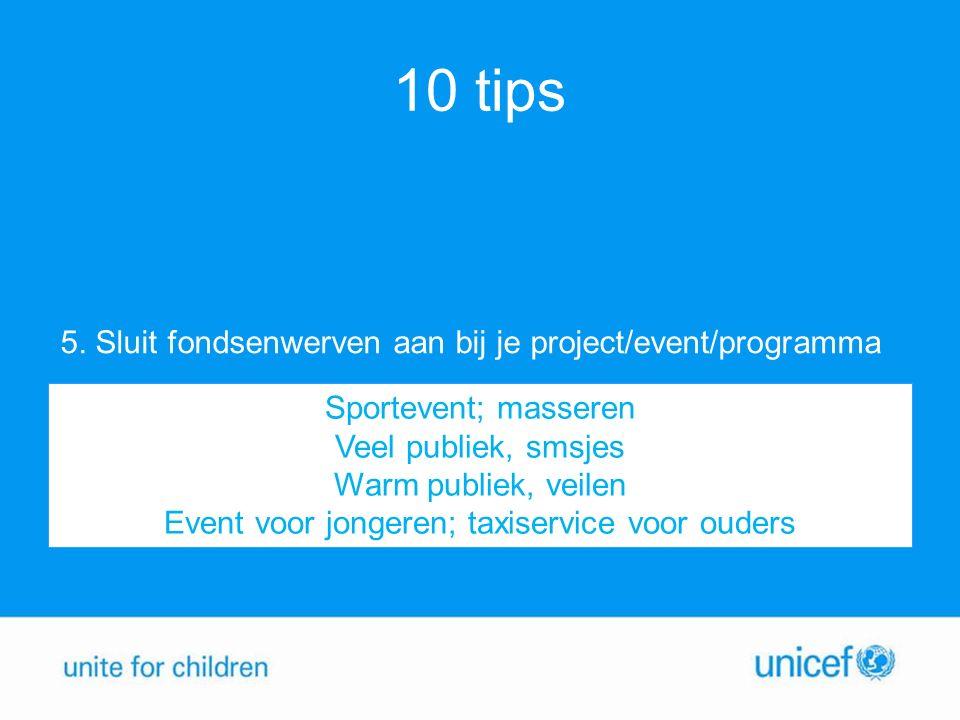 10 tips 5.