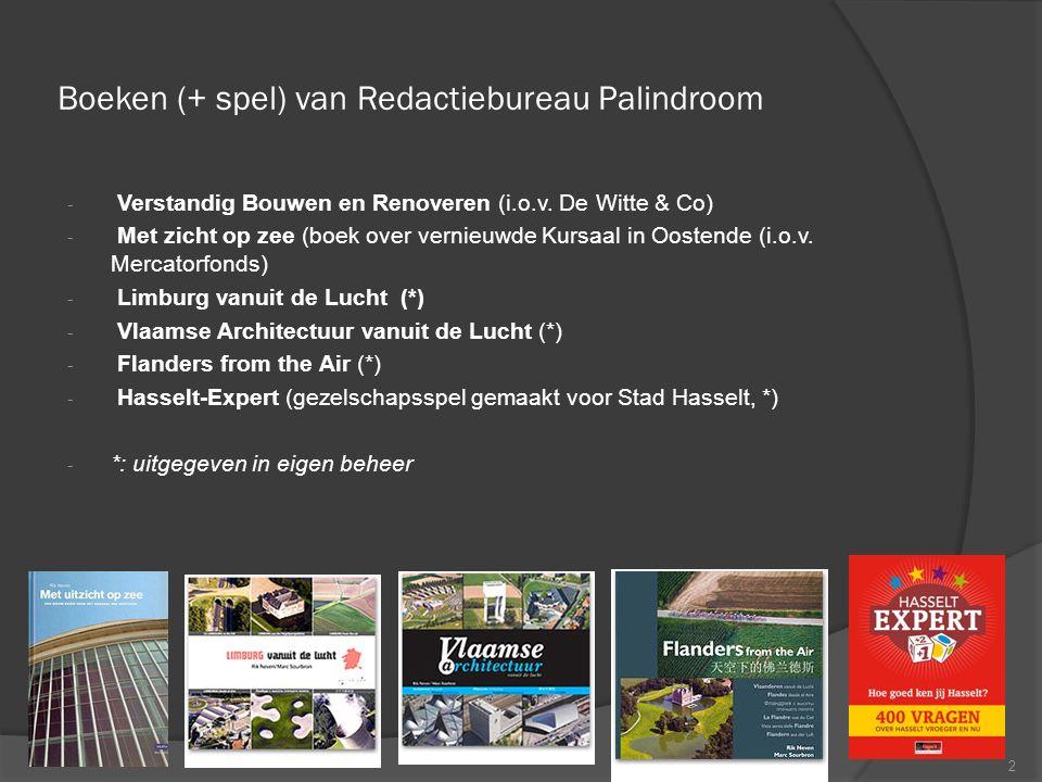 Boeken (+ spel) van Redactiebureau Palindroom - Verstandig Bouwen en Renoveren (i.o.v.