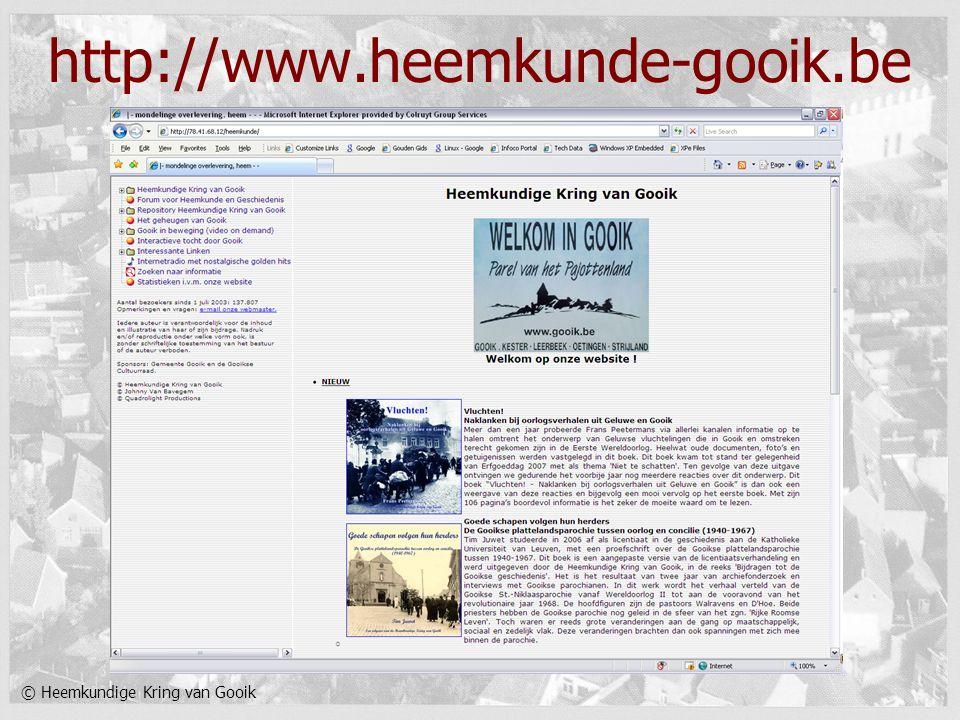 © Heemkundige Kring van Gooik http://www.heemkunde-gooik.be