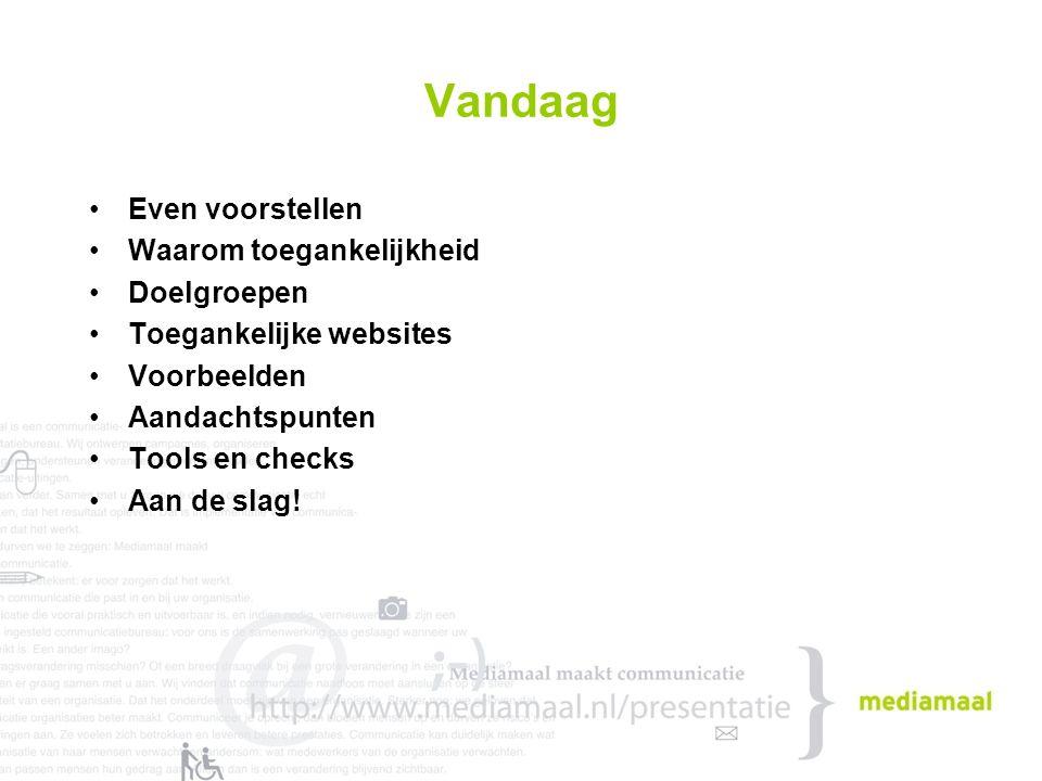 Even voorstellen Marijn Tijhuis –27 / Nijmegen / Nijmegen / Utrecht –Academie Digitale Communicatie –Webdesigner / webdeveloper Mediamaal –Communicatie en implementatie –Verandercommunicatie, Diversiteit en Toegankelijkheid –Drempels Weg