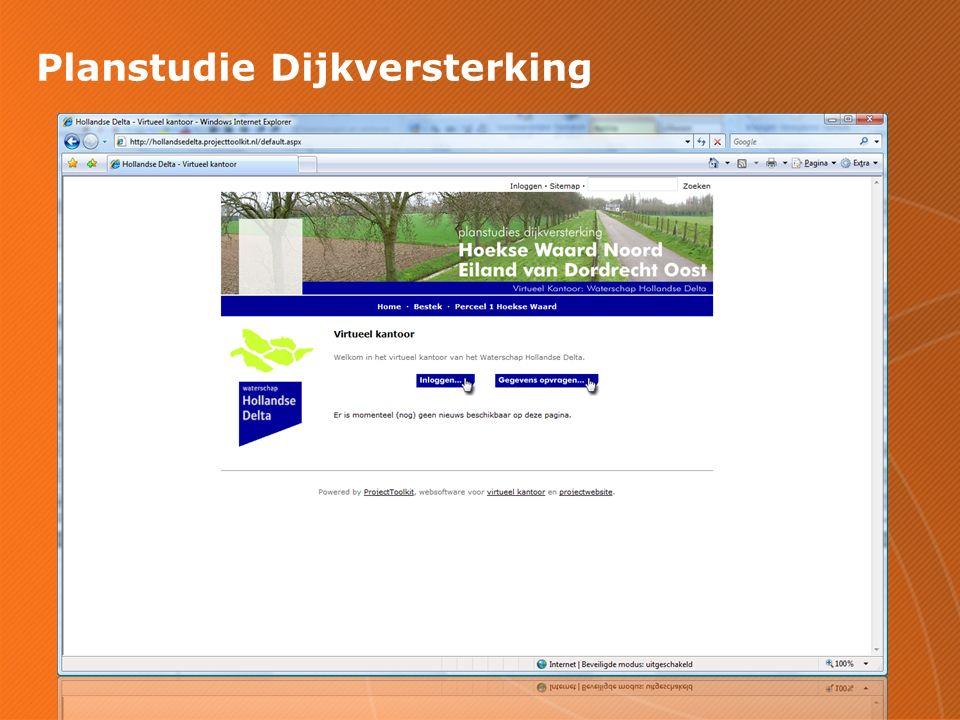 Planstudie Dijkversterking