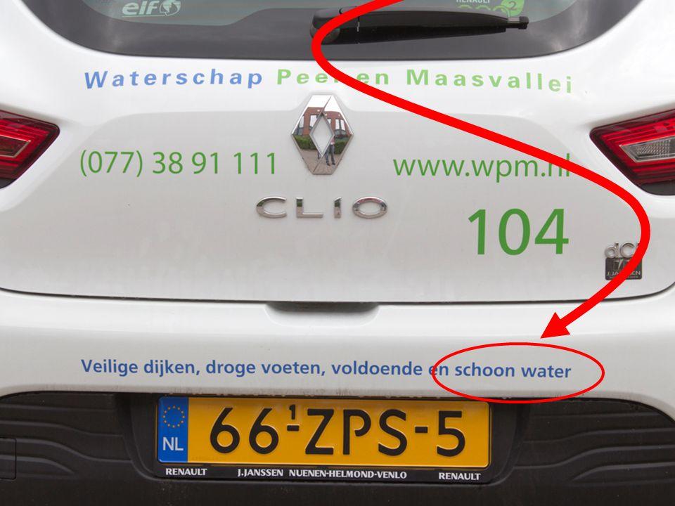 Ecologie Waarom schoon water? 1 2