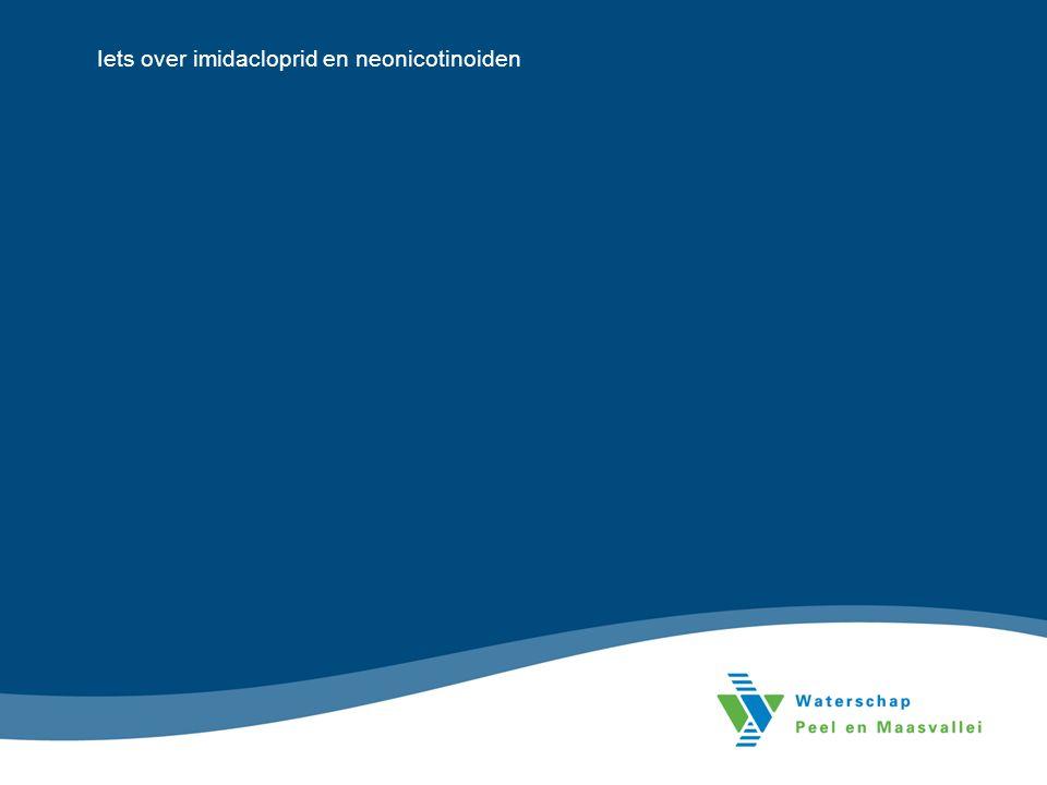 Iets over imidacloprid en neonicotinoiden