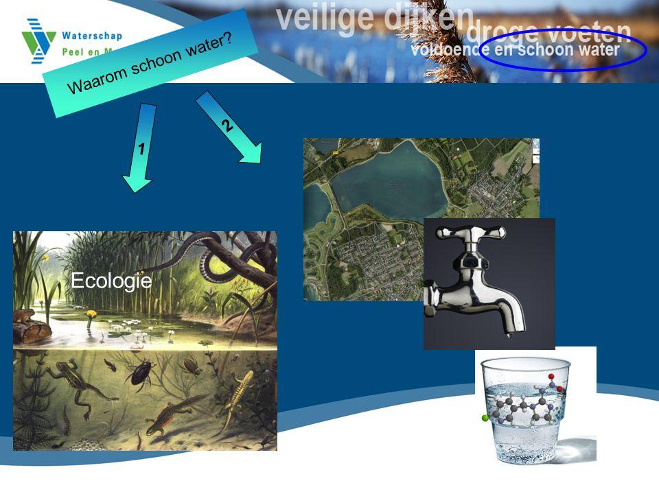 Ecologie Waarom schoon water 1 2