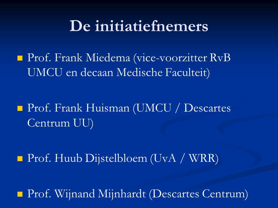 De initiatiefnemers Prof.