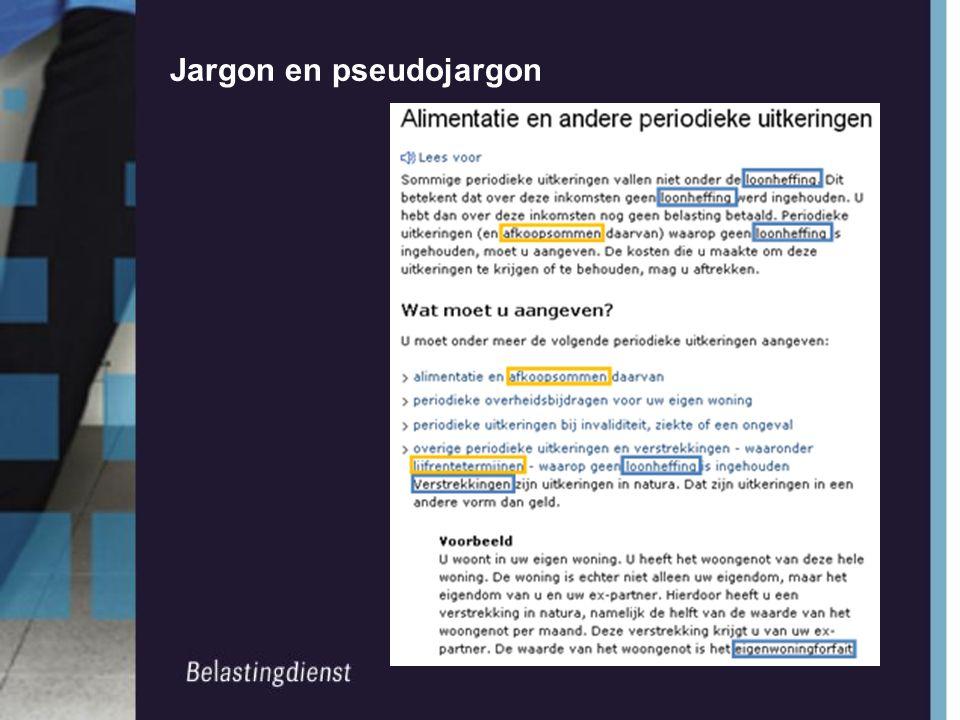 Jargon en pseudojargon