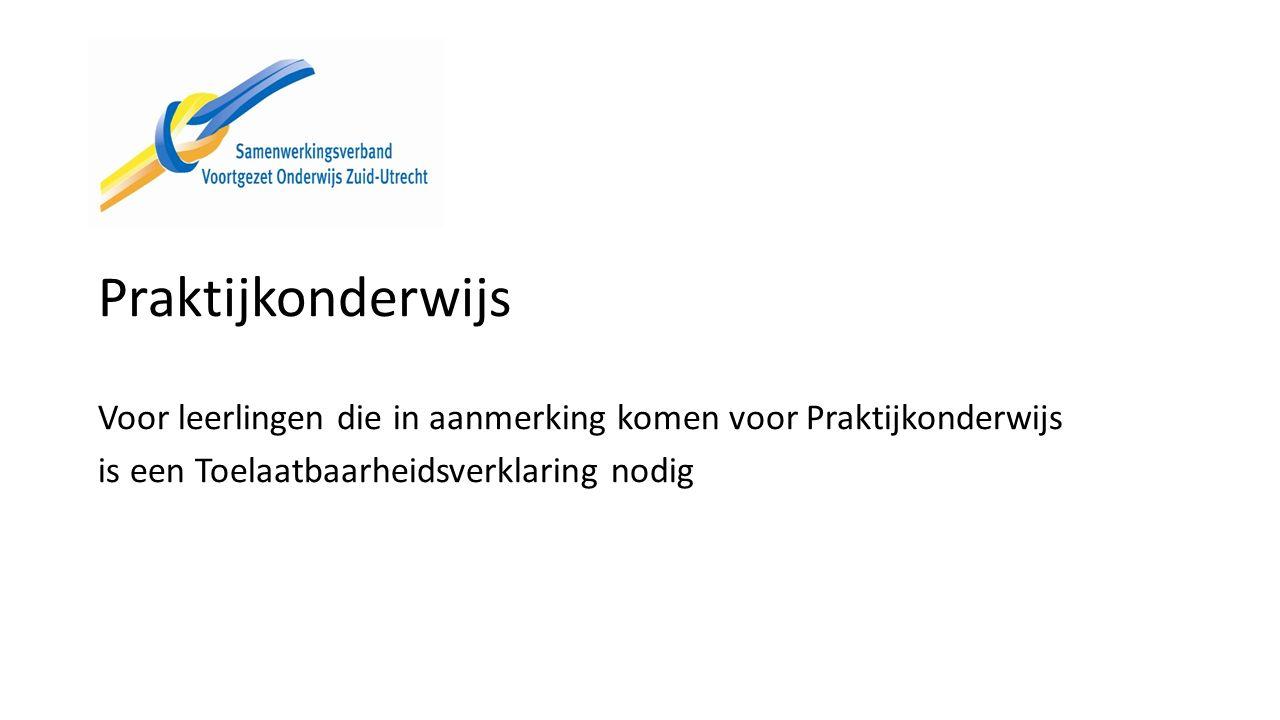 Documenten op de website Brochure leerlingenwerving 2016-2017 Lwoo/pro in het VO Draaiboek digitale aanmelding Passend onderwijs in de regio Zuid-Utrecht